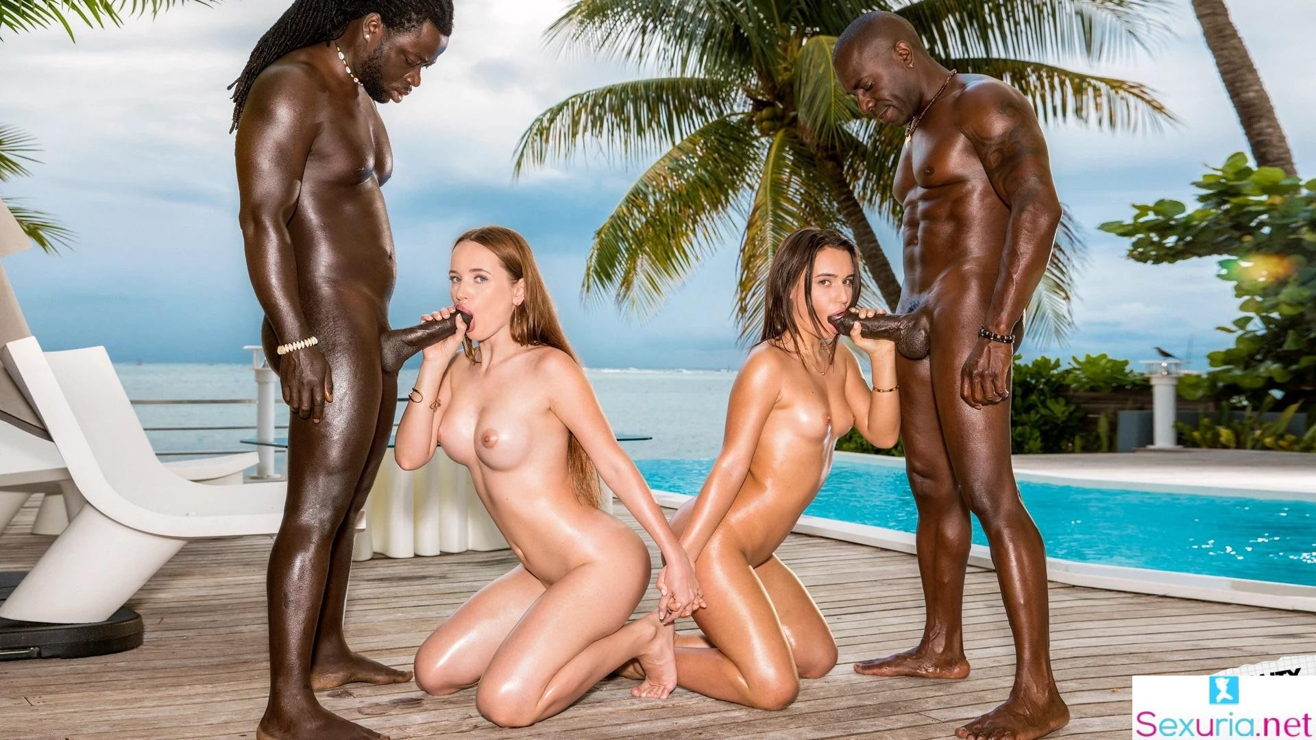 Blacked - Lana Roy & Kaisa Nord