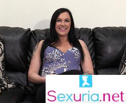Backroom Casting Couch - Hailey