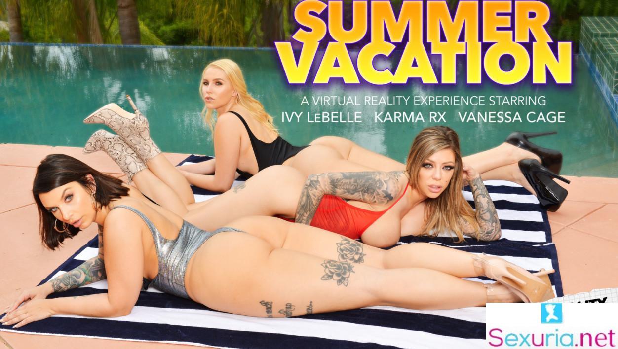 Naughty America VR - Ivy LeBelle, Karma Rx & Vanessa Cage
