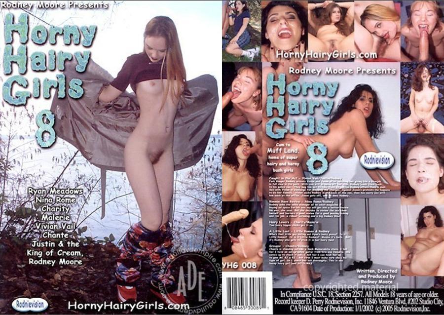 Horny Hairy Girls 8 [2002/DVDRip]