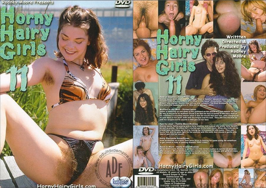 Horny Hairy Girls 11 [2002/DVDRip]
