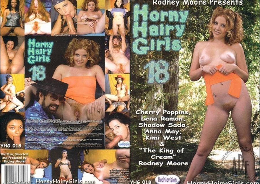 Horny Hairy Girls 18 [2004/DVDRip]