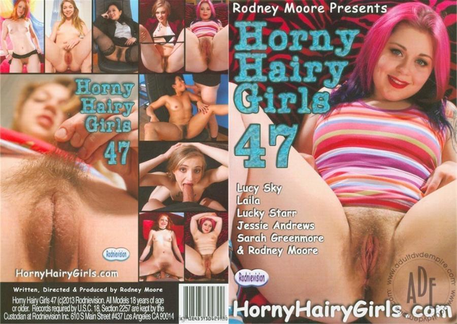 Horny Hairy Girls 47 [2013/DVDRip]