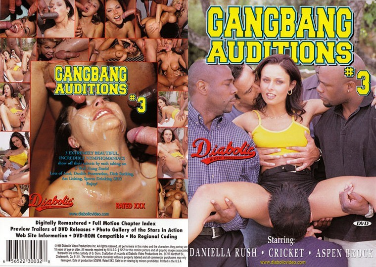 Gangbang Auditions 3 [1999/DVDRip]