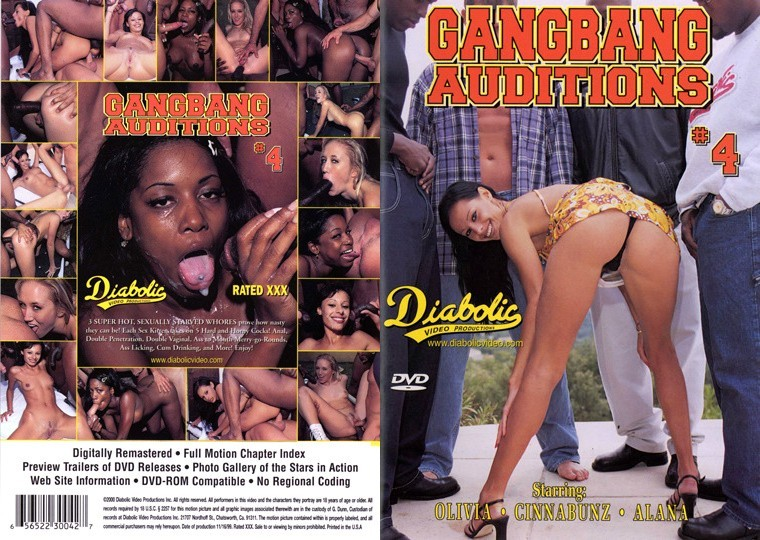 Gangbang Auditions 4 [1999/DVDRip]