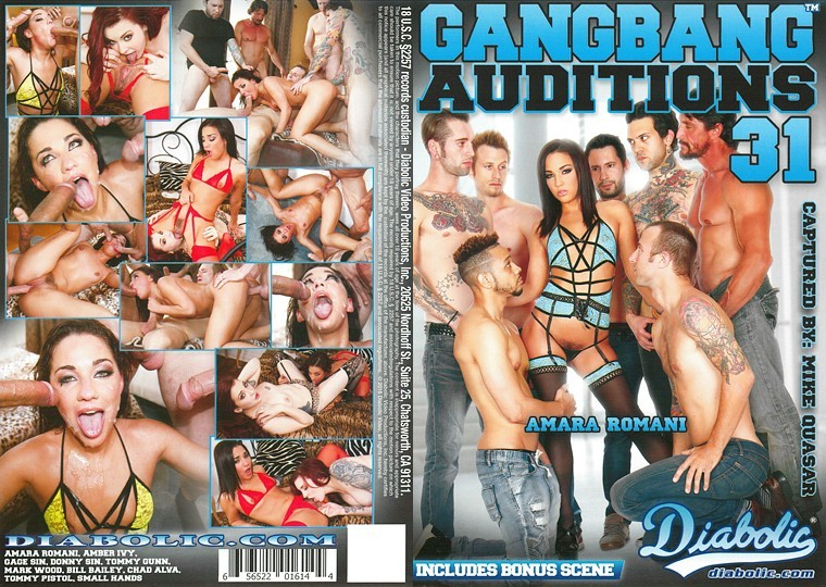 Gangbang Auditions 31 [2016/DVDRip]