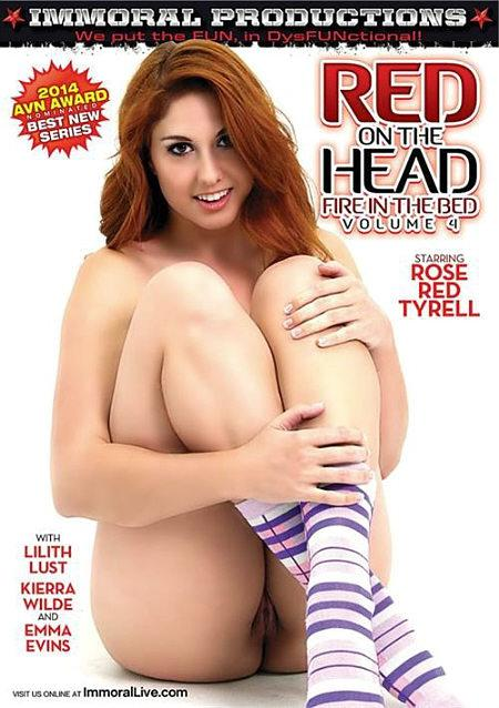 Red on the Head Fire in the Bed 4 -2014-
