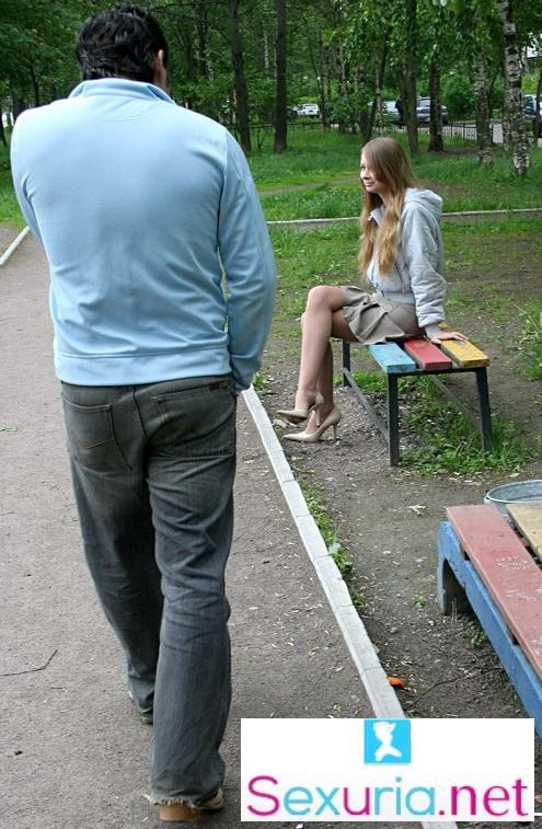 Amateur - Pickup And Fuck In The Park Russian Teen SD  576p